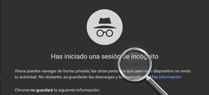 incognito chrome actualizatumovil