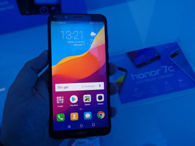 Honor 7c frontal