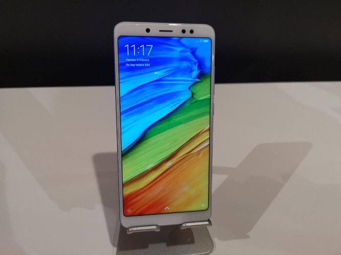 Xiaomi Redmi Note 5 Frontal
