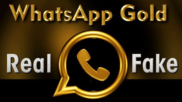 bulos de WhatsApp Gold fake