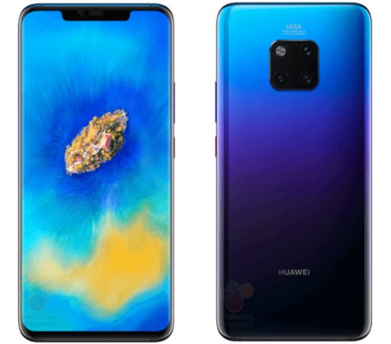 Colores del Huawei Mate 20 Pro Twilight
