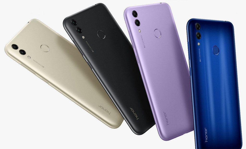 Honor 8C colores