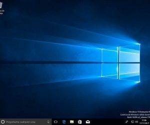 Instalar Windows 10 - escritorio