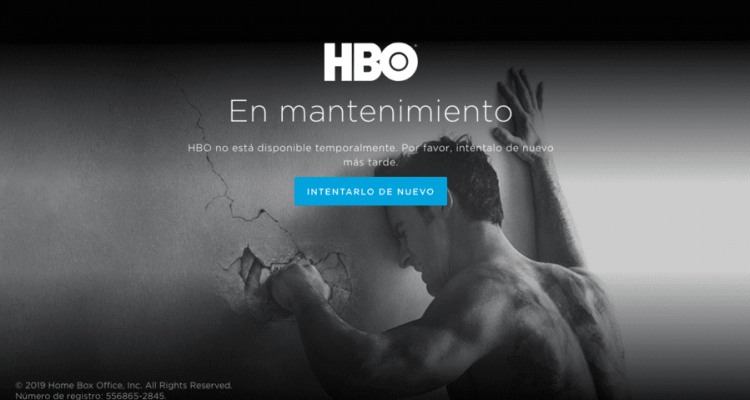caida global de HBO