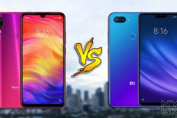Comparativa del Redmi Note 7 vs Mi 8 Lite