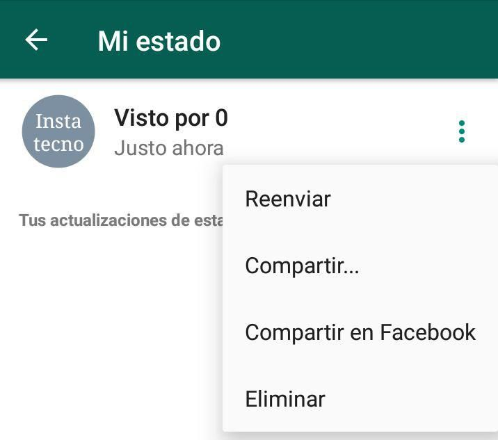Compartir Estados de WhatsApp