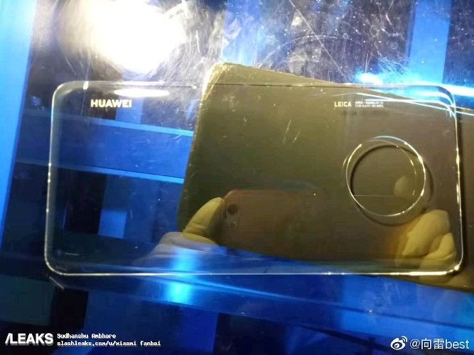 Huawei Mate 30 Pro Glass Panel Leaked